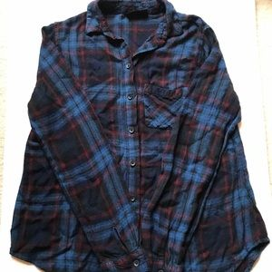 Topshop Red And Blue Flannel SUPER SOFT